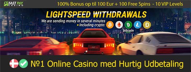 FastPay - Casino med hurtig udbetaling