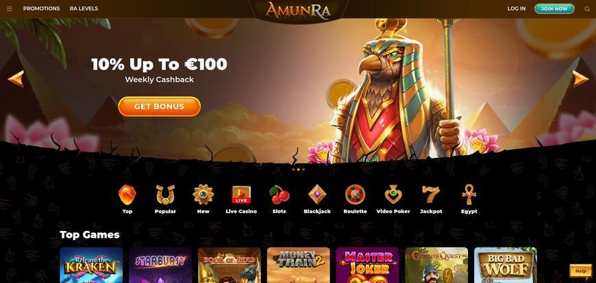 Amuna Ra Casino