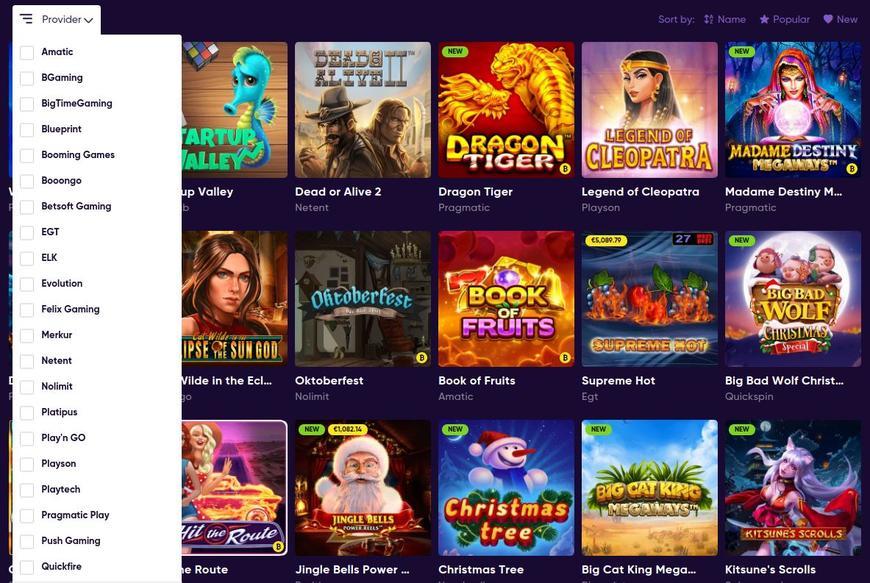 Bao Casino Software Udbydere