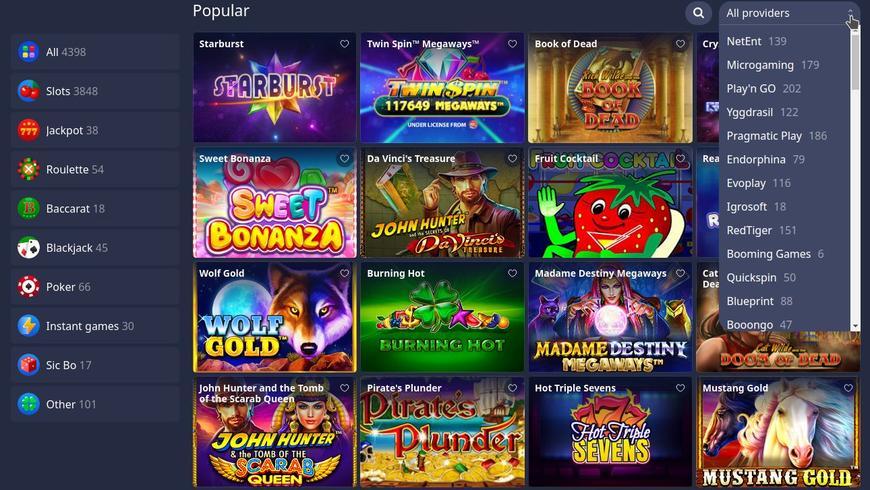 Betmaster Casino Software Udbydere
