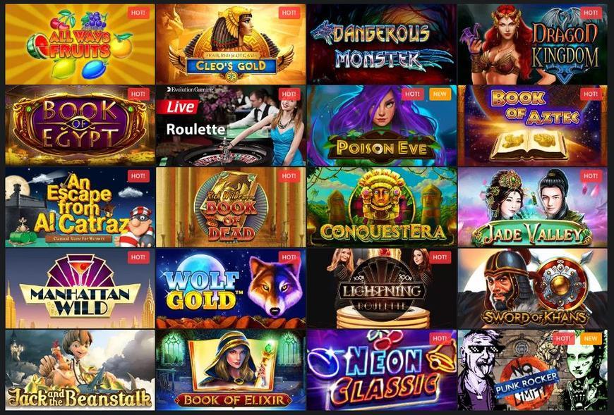 Golden Star Casino slots