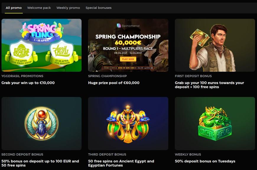 Casino Buck velkomstbonus