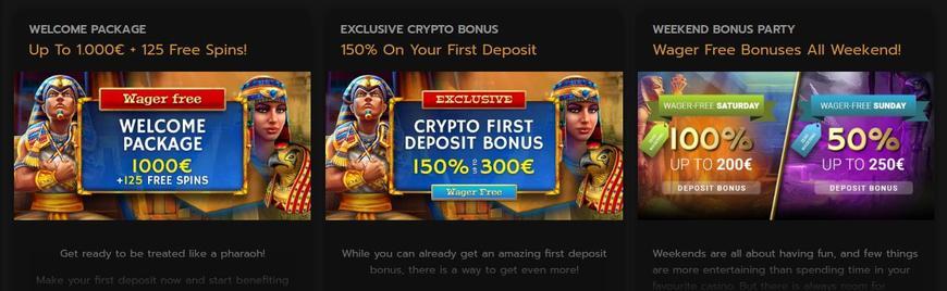 Horus Casino velkomstbonus